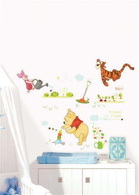 Wall Sticker Stiker Dinding Pooh Tiger winnie pooh piglet tigger disney wall stickers wallstickery