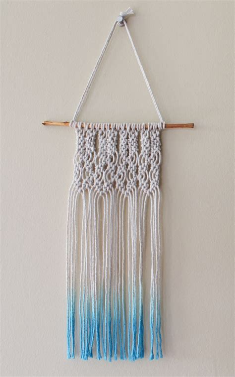 macrame for beginners small macrame wall hanging for beginners