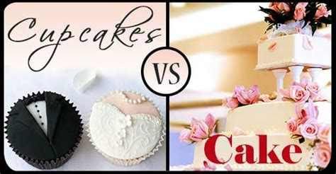 Wedding Cake Vs Cupcakes by Wedding Cake Vs Cupcakes Perfectly Invited Wedding