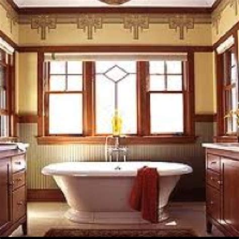 Mission Style Bathroom Craftsman Bathroom Interesting Wallpaper Craftsman Style Pinterest