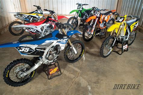 motocross 250f shootout 2015 250f motocross shootout dirt bike magazine