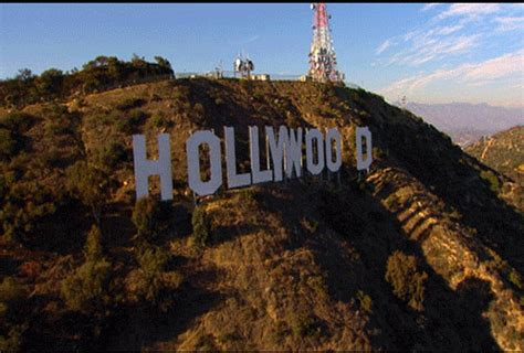 hollywood sign gif unwritten or top of the world which tune would