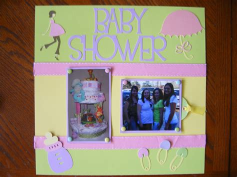 Baby Shower Scrapbook Pages by Baby Shower Scrapbook Layouts Baby Shower Scrapbooking