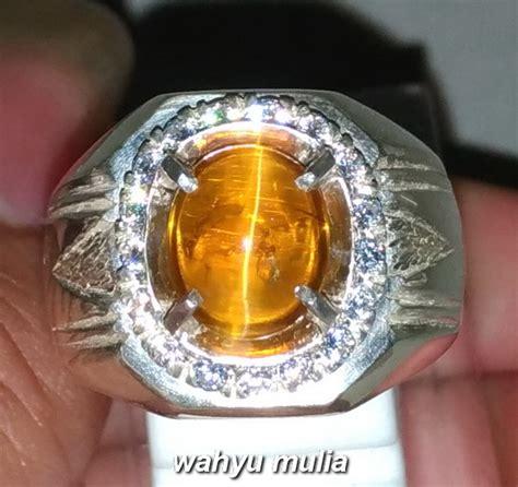 Batu Opal Cat Eye batu cincin permata golden opal cat eye mata kucing asli