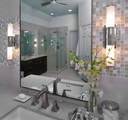 Modern Bathroom Mosaic Tile Modern Bathroom Remodel With Mosaic Tile Modern
