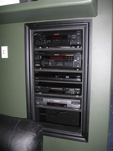 wall mounted stereo cabinet in wall stereo cabinet photos