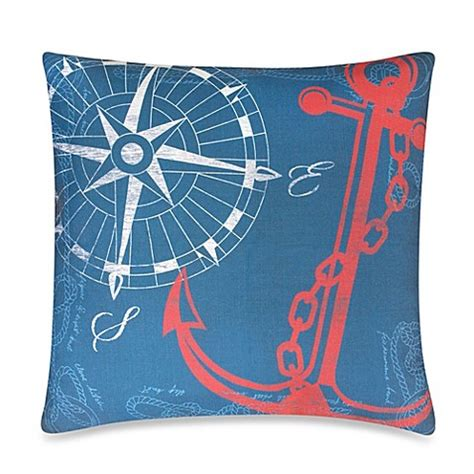 bed bath and beyond outdoor pillows anchors away outdoor throw pillow in nautical bed bath beyond