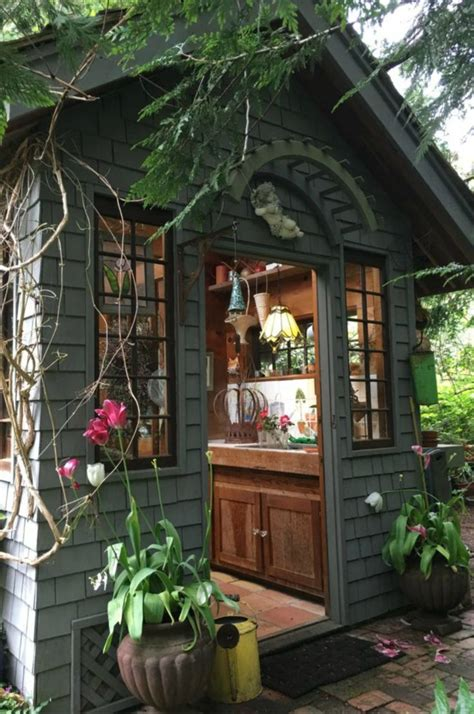 17 charming she shed ideas and inspiration cute she shed 17 best images about garden sheds on pinterest tool