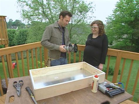 Fold Away Changing Table How To Build A Fold Away Changing Table How Tos Diy