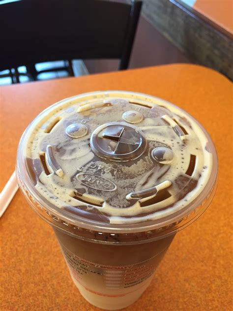 Rachael Doesnt Like Dunkin Donuts Coffee Any More Than We Do by Dunkin Donuts Iced Pumpkin Macchiato Review Fast Food