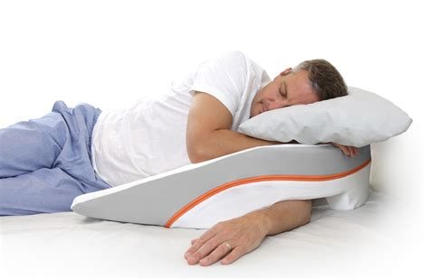 bed wedge pillow for acid reflux gerd pillows medcline acid reflux gerd pillow system