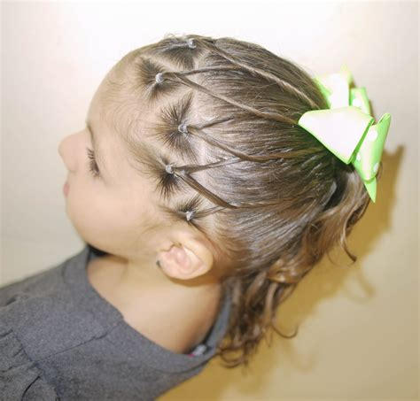 imagenes de peinados para nias 2016 peinado para ni 241 a easy ponytail for girls youtube