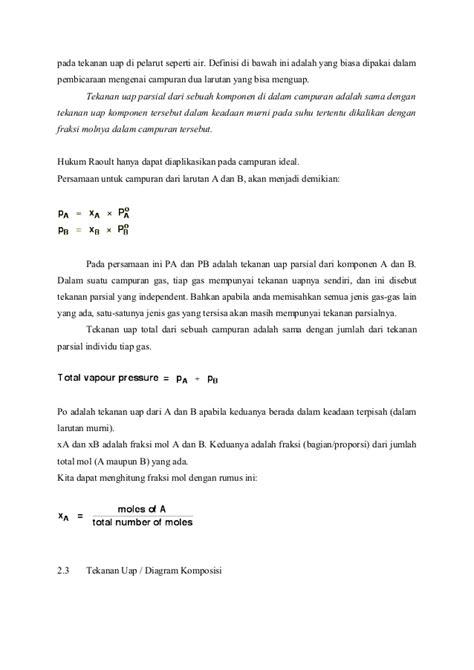 makalah membuat larutan makalah hukum raoult dan termodinamika larutan ideal
