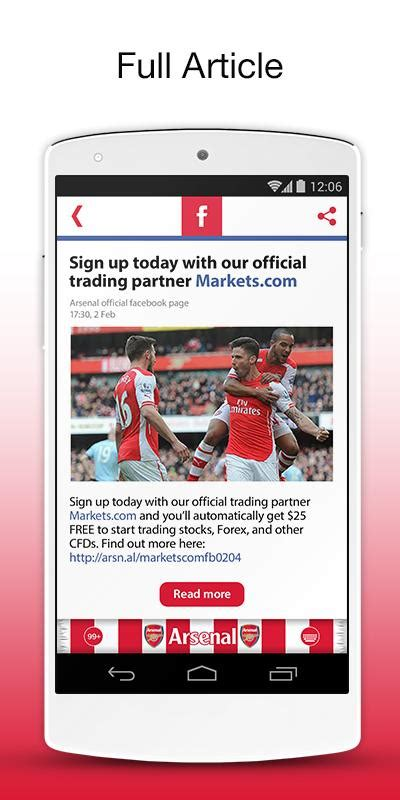 arsenal official official arsenal fc keyboard 187 apk thing android apps
