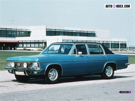 opel admiral opel admiral photos and comments www picautos com