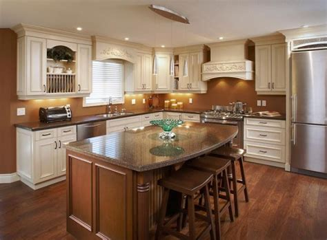 pictures of kitchen designs with islands small kitchen design with island simple home decoration