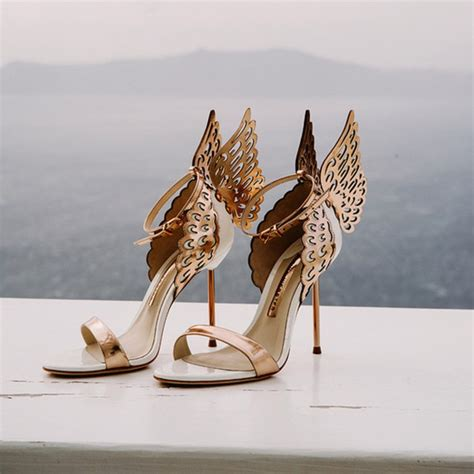 Gold Wedding Shoes by 21 Gold Wedding Shoes Brides