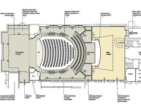 architecture photography auditorium floor plan services theatre consultants collaborative