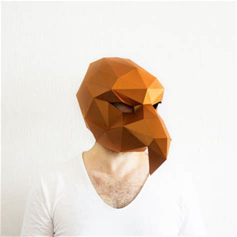 free printable vulture mask best template paper products on wanelo