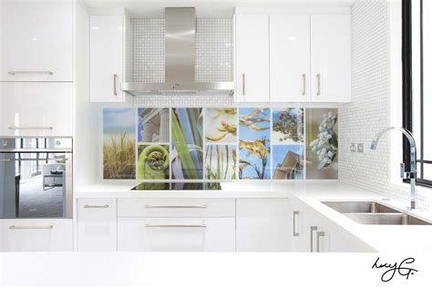 Glass Backsplash Ideas For Kitchens by Splashback