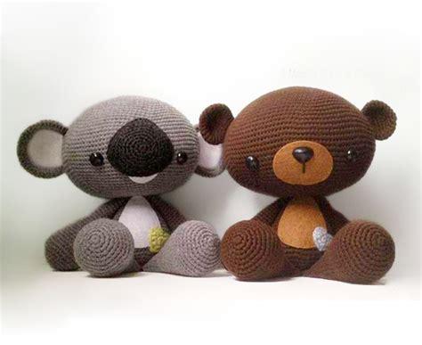 amigurumi koala pattern huggable bear and koala amigurumi pattern