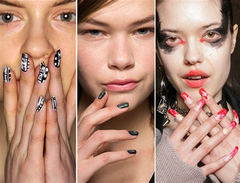 pictures of newest nail trends fall winter 2015 2016 nail trends fashionisers