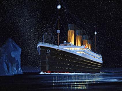 imagenes originales de titanic 191 la luna fue responsable del hundimiento del titanic
