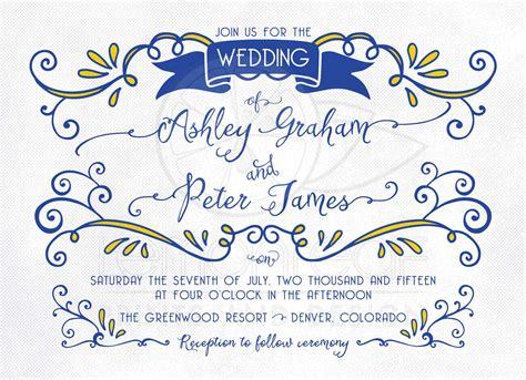 wedding background royal blue royal blue wedding invitation background wedding