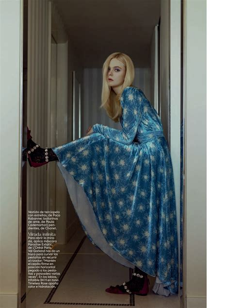 Elle Fanning The Fappening Sexy Photoshoot In Spain The