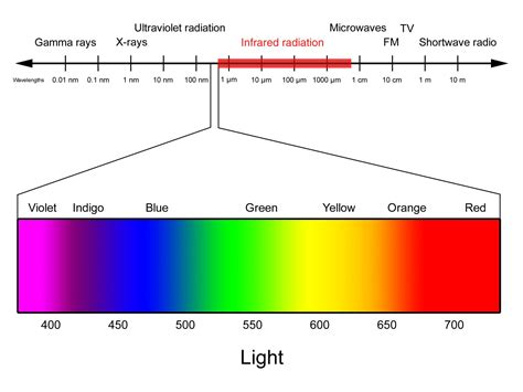 Wavelength Range Of Visible Light by Light Spectrum Images Search