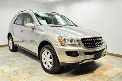 buy used 2006 mercedes benz m class ml350 in paterson new jersey united states for us 17 750 00