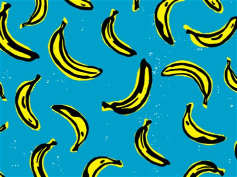 banana wallpaper ios banana scatter pattern by brittany zeller holland dribbble