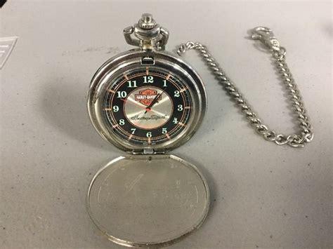 Harley Davidson Pocket Watches by Harley Davidson Heritage Softail Franklin Mint Precision