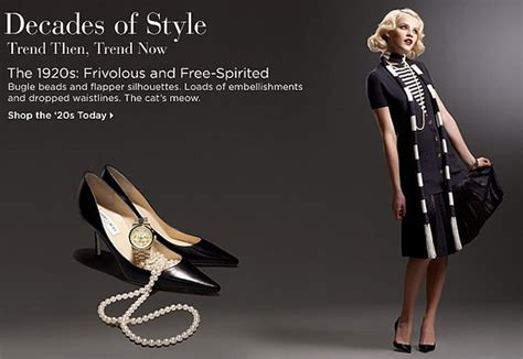 Saks Style By Decade by Fabworthy Shop By Your Favorite Decade Popsugar Fashion