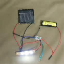 diy solar led light solar auto light diy kit 3 leds assembled one ebay