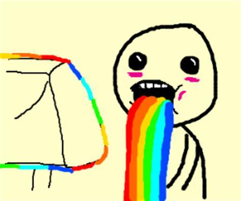 Rainbow Puke Meme - pin rainbow vomit meme generator on pinterest