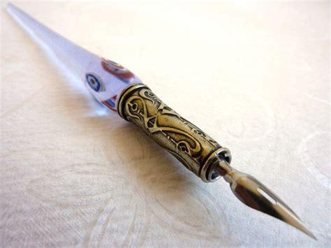 Glass Pen Ink murrano murrine glass calligraphy pen ink