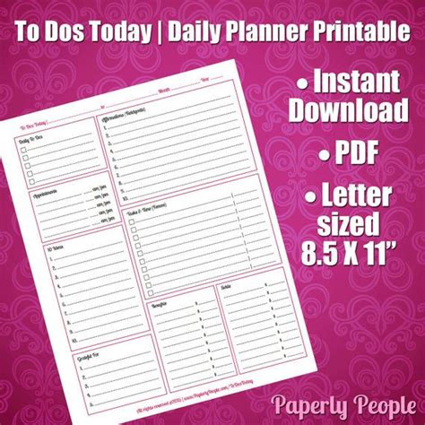 diy printable planner calendar pages 42 best images about productivity time management tools