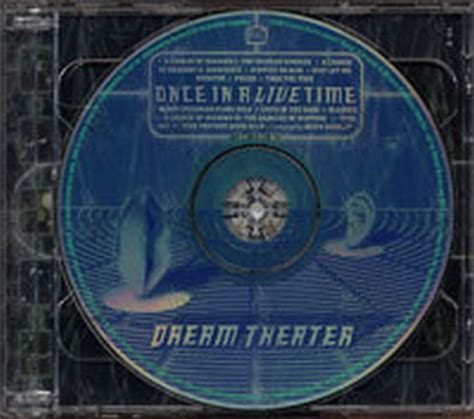 Cd Theater Once theater once in a live time album cd records