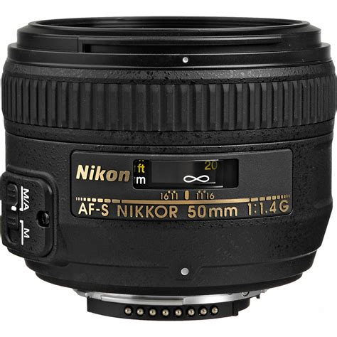 50mm lens nikon af s nikkor 50mm f 1 4g lens 2180 b h photo