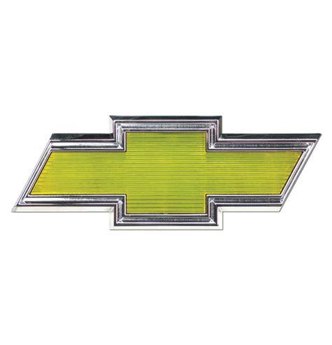 grill emblem chevrolet bowtie classic chevy truck parts