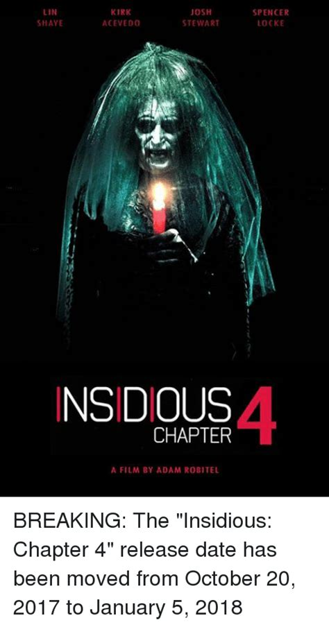 adam robitel wraps filming on insidious chapter 4 dread 25 best memes about insidious insidious memes
