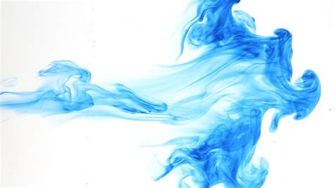 blue ink abstract blue water wave energy curl lines drop as wallpaper background stock footage