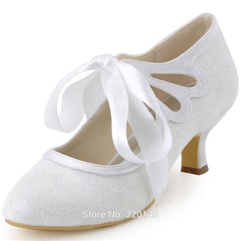 Lace Bridal Shoes by Popular Ivory Lace Wedding Shoes Buy Cheap Ivory Lace