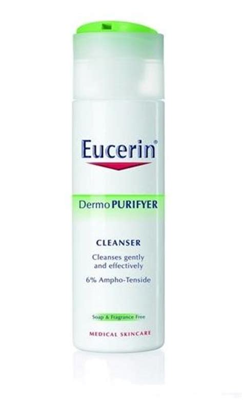 Acl Anti Comedogenic Lotion eucerin dermopurifyer cleanser anti acne gel 200ml 6 76 fl