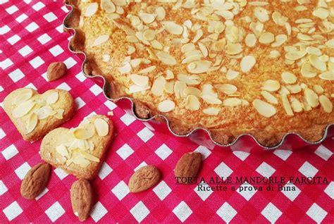 preparazioni di base ricette a prova di bina torta alle mandorle farcita ricette a prova di bina