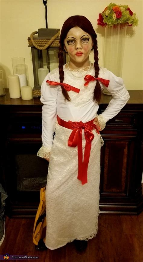 annabelle doll costume the annabelle doll s costume photo 2 3