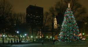 the boston common tree lighting costs canadians 242 000