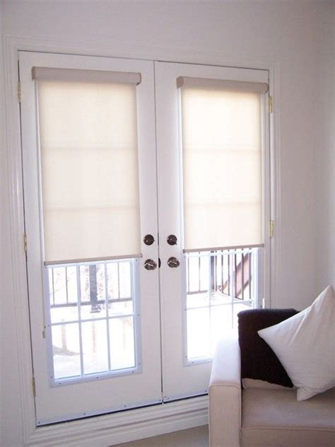 patio door roller shades 25 best ideas about door blinds on