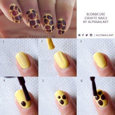 Giraffe Nail Tutorial